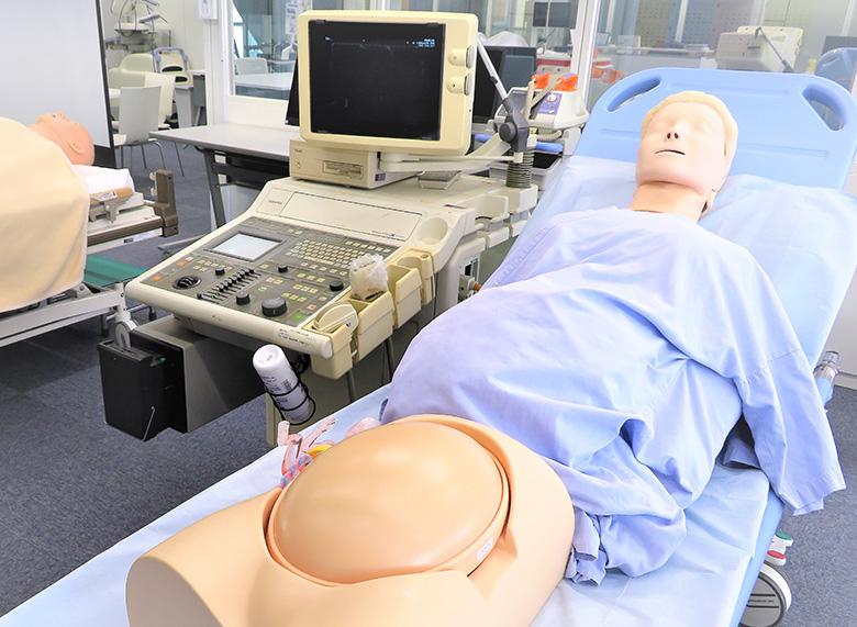 胎児超音波診断ファントム SPACE FAN-ST