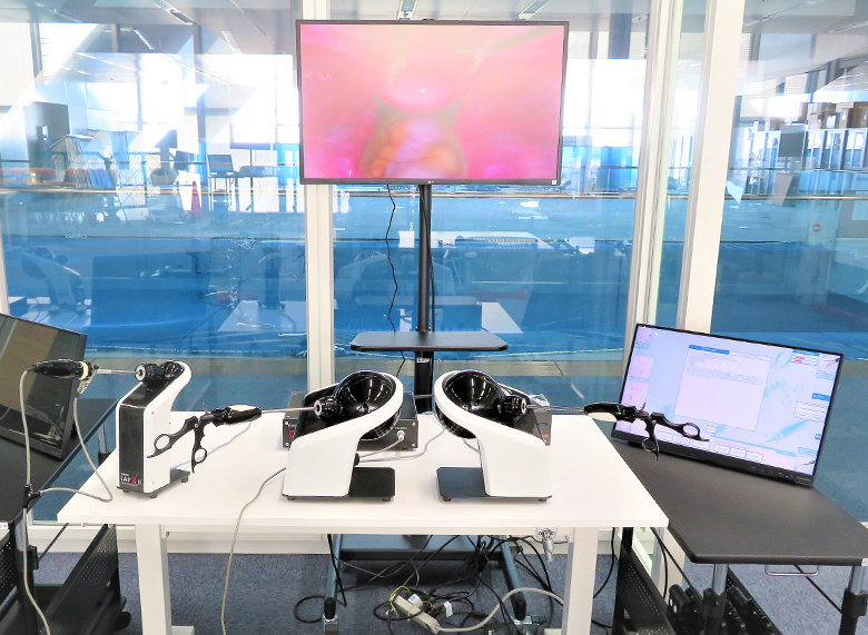 腹腔鏡VRシミュレータ LAP-XⅡ
