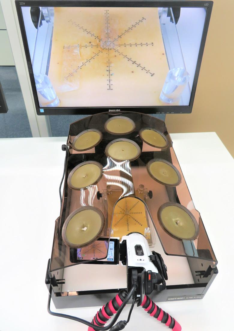 内視鏡外科手術用トレーニングボックス エンドワークプロⅡ