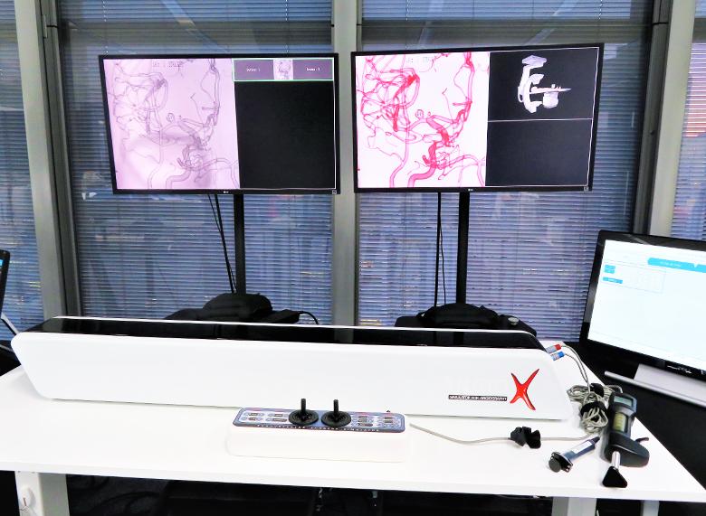 アンギオグラフィVRシミュレーター Angio-X