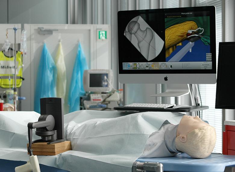 整形外科手術シミュレータ学習システム Trauma Vision