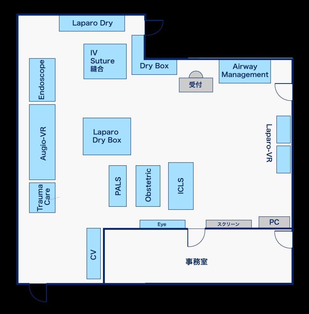 Juntendo Map