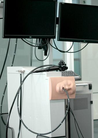 内視鏡検査シミュレーター