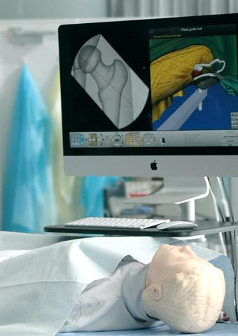 骨折治療シミュレータ