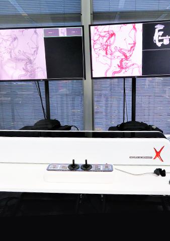 血管造影検査/血管内治療 シミュレーター